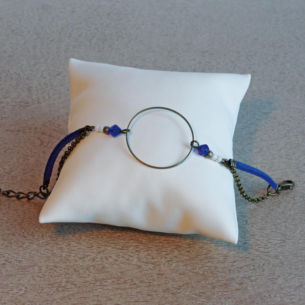 Bracelet-cercle-bleu